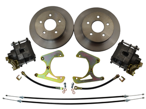 1973-1987 Chevrolet C10 Rear Disc Brake Conversion 5X5 Bolt Pattern W/ E-brake - SAE-Speed