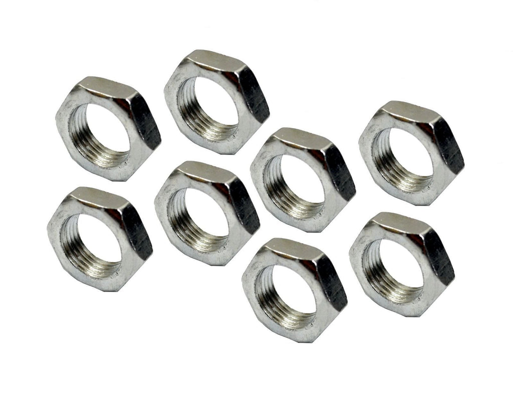 Steel Jam Nut 3/4-16 Right Hand Thread RH Bag Of Qty. 8 For Rod Ends Heim Joints - SAE-Speed