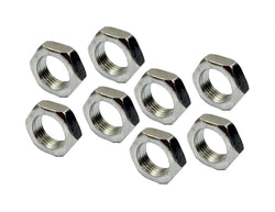 Steel Jam Nut 3/4-16 Right Hand Thread RH Bag Of Qty. 8 For Rod Ends Heim Joints - Source Automotive Engineering