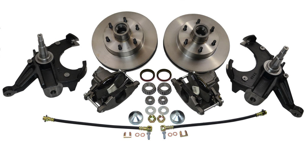 "Chevrolet GM C10 C15 Truck 1963-70 Disc Brake Conversion 2.5"" Drop Spindles 6 Lug - SAE-Speed"
