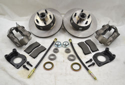 1964 1965 1966 1967 Ford Mustang Front Disc Brake Conversion Kit W/ Dust Shields - Source Automotive Engineering