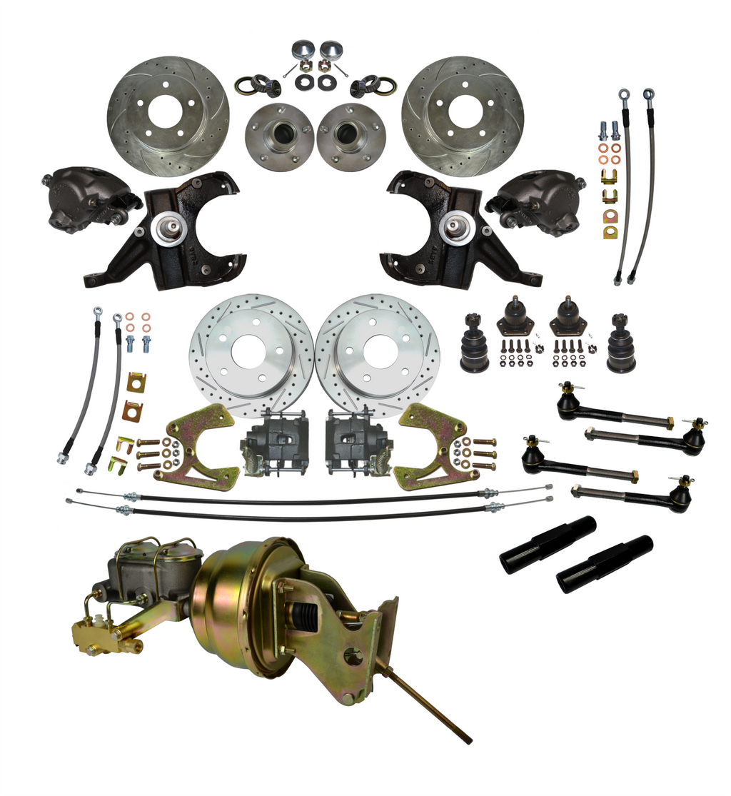 Chevrolet GM C10 C15 Truck 1963-1987 Disc Brake Front Rear Complete Kit 5X5 - Source Automotive Engineering