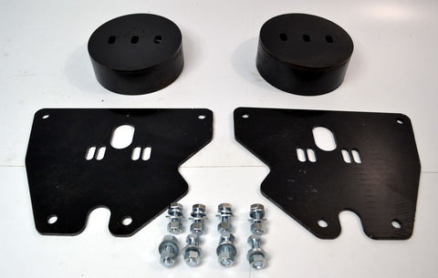 63-87 Chevrolet GMC C10 Bolt-On Front Air Bag Airbag Bracket Set - SAE-Speed