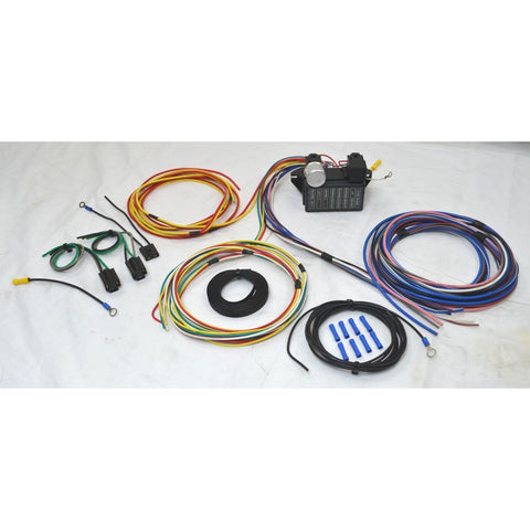 12 Circuit Universal Wire Harness - Source Automotive Engineering