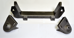 53 54 55 56 Ford F100 1/2 Truck Mustang II Front IFS Crossmember - Source Automotive Engineering