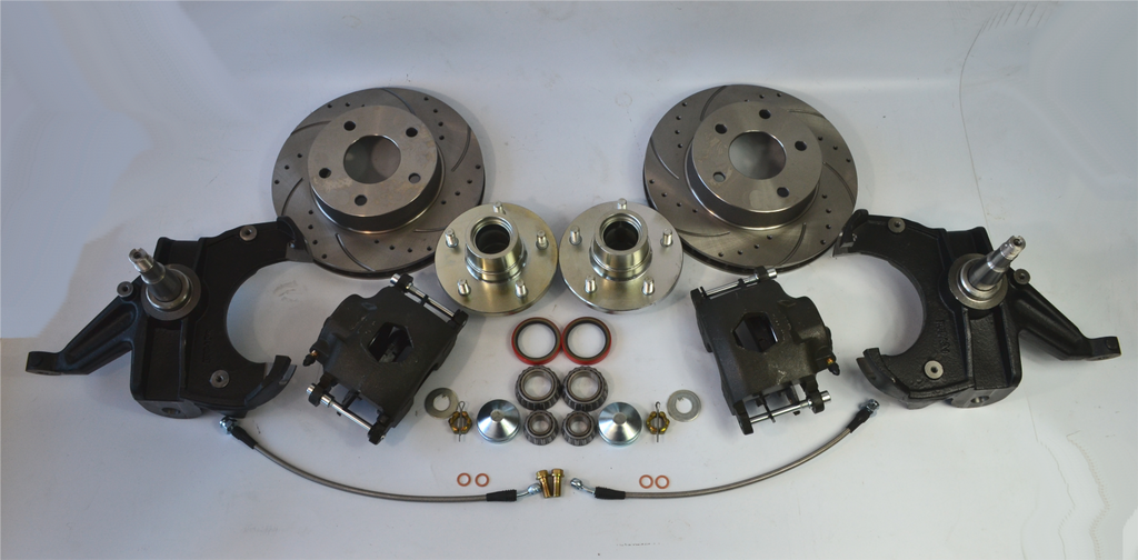 "Chevrolet GM C10 C15 Truck 1963-87 Disc Brake Conversions 2.5"" Drop Spindles 5X5 - SAE-Speed"