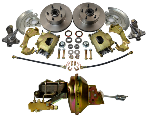 1964-1972 GM A,F,X Body Disc Brake Kit  Camaro, Chevelle w/ Spindle evelle, Nova, GTO - SAE-Speed