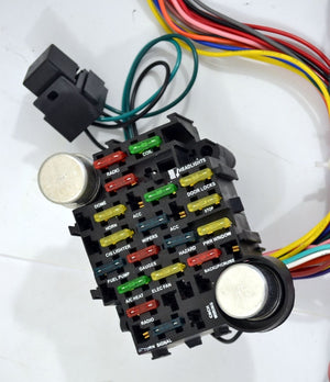 22 Circuit Universal wiring Harness - Source Automotive Engineering