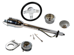 "GM Aftermarket Chrome 28"" Steering Column Complete Kit - Source Automotive Engineering"