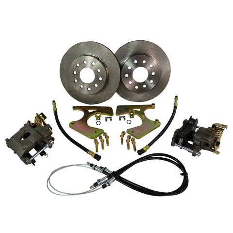 1964-72 Chevy Chevelle 10 & 12 Bolt Brake Kit W/ E-brake - Source Automotive Engineering