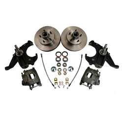 "Chevrolet GM C10 C15 Truck 1973-87 Disc Brake Kit 2.5"" Drop Spindles 5 Lug - Source Automotive Engineering"