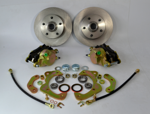 1958-1964 Chevrolet Full Size Impala Biscayne Disc Brake Conversion Kit - Source Automotive Engineering