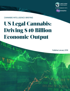 US Legal Cannabis: Driving $40 Billion Economic Output
