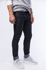 Paneled 11.oz Dark Italian Stretch