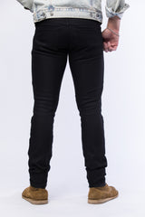Quilted 12.oz Black Italian Stretch