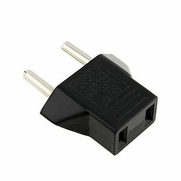 Plug Adapter for Europe Asia Africa Ungrounded