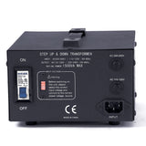 LiteFuze 1500 Watt Voltage Converter Transformer LT-1500