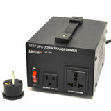 LiteFuze 750 Watt Voltage Converter Transformer LT-750