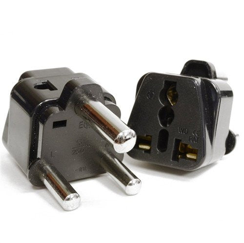 Type M - OREI Grounded 2 In 1 Plug Adapter (2 Pack) - South Africa, Swaziland