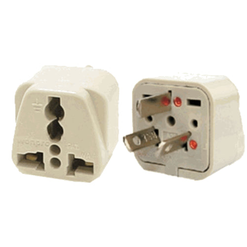 Universal Grounded Travel Plug Adapter for Australia China NZ