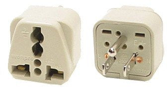 Grounded Universal Plug Adapter Type B For Japan, US