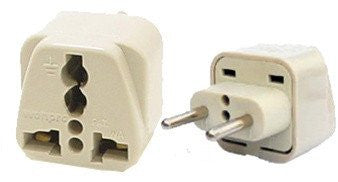 Universal Plug Adapter Type C For Europe, Russia, UAE