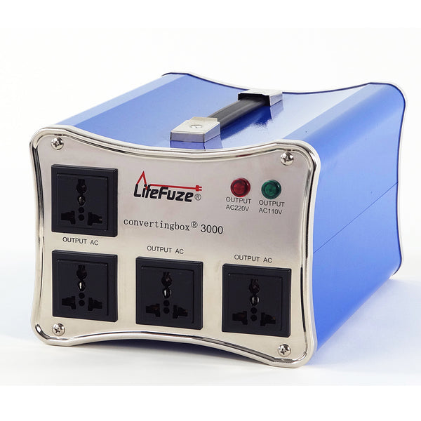 LiteFuze convertingbox 3000 Light Weight Voltage Converter