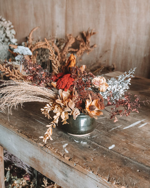 MEDIUM DRIED ARRANGEMENT | AUTUMN
