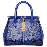 Crocodile Leather Tote Luxury Fashion Designer Handbag - Levi Emmanuel