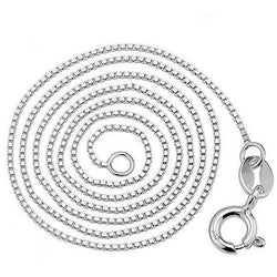 Pure 925 Solid Sterling Silver Necklace Fine Jewelry - Levi Emmanuel