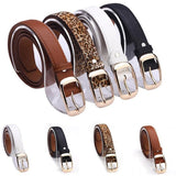New 2017 Fashion Faux Leather Metal Buckle Straps Girl's Belt - Levi Emmanuel