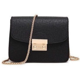 Handbag - Chain Solid Mini Shoulder Messenger Purses