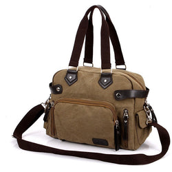 New Fashion Designer Large Capacity Canvas Crossbody Shoulder Handbags - Levi Emmanuel