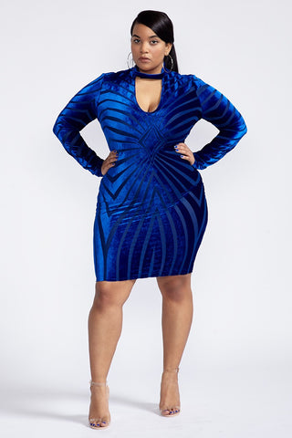 Plus Size Diamond In The Rough Dress