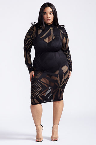 Plus Size Hard To Miss Dress