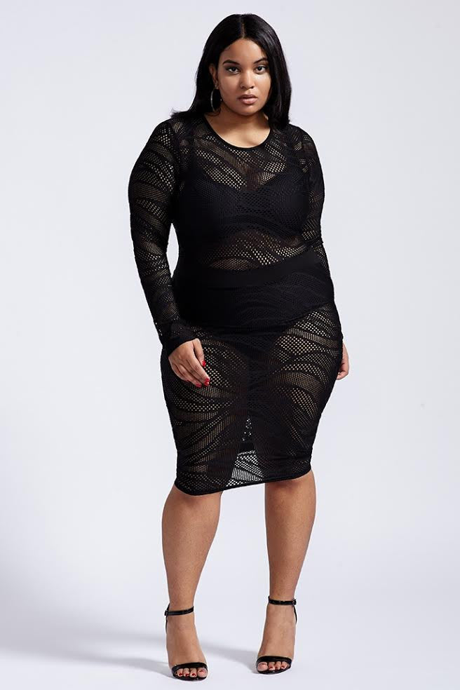 Plus Size Made You Look Dress