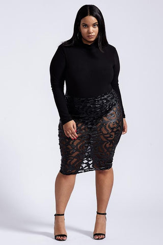 Plus Size No Regrets Dress