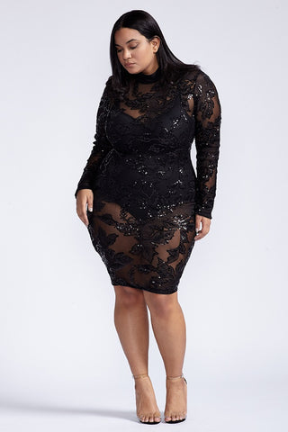Plus Size Want You Back Dress