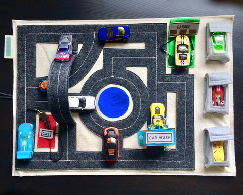 hotwheels roads travel playmat