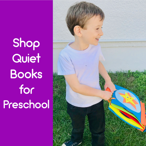 Preschool Quiet Books