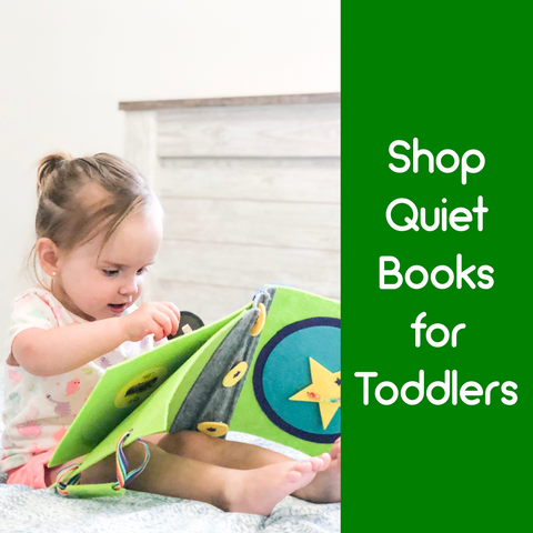 Toddler Quiet Books