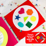 Learn Shapes and Colors Baby Quiet Book Page