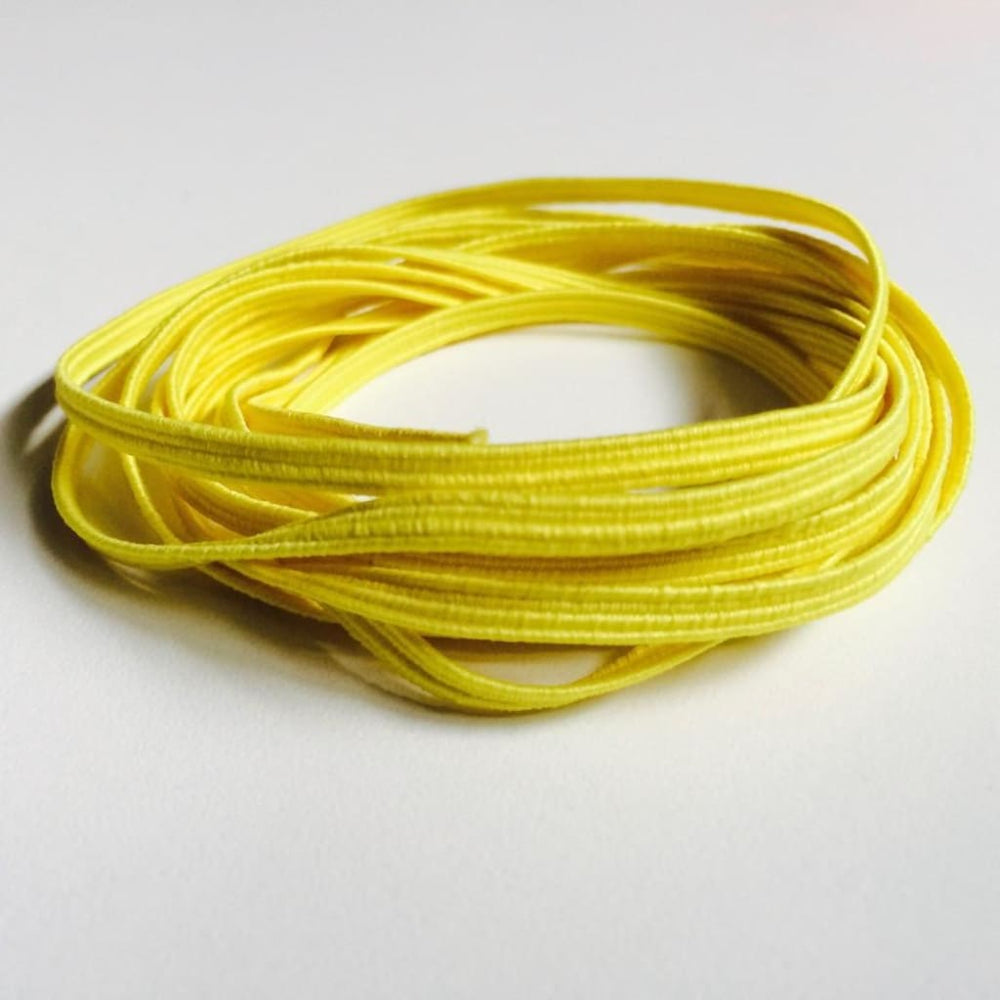 Blue Skinny Elastic Yellow Craft Supplies
