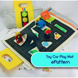 How to Make a Toy Car Playscape - ePattern & Video Tutorial Pattern