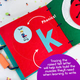 Preschool Quiet Book Pages Bonus Set