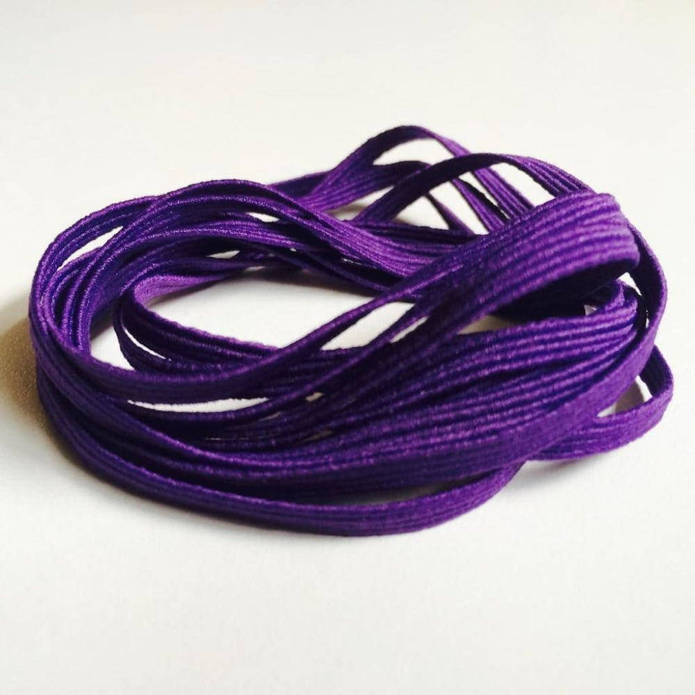 Purple Skinny Elastic Purple Craft Supplies