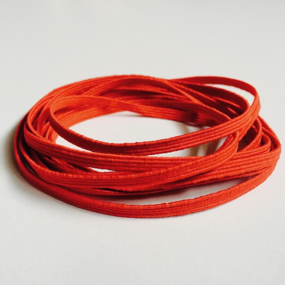 Red Skinny Elastic Red Craft Supplies
