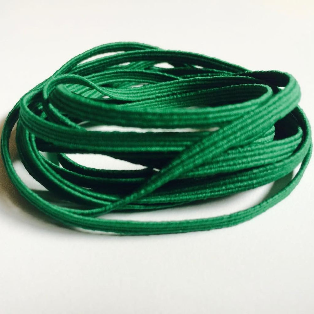 Red Skinny Elastic Green Craft Supplies
