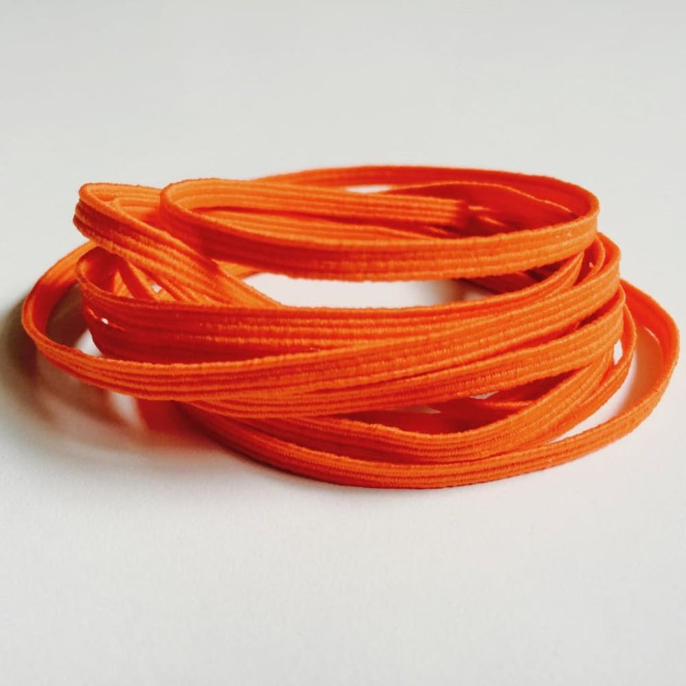Red Skinny Elastic Orange Craft Supplies