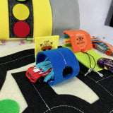 Toy Car Play Mat Sewing Kit Printable Pattern & Video Tutorial Ready to Sew Kit